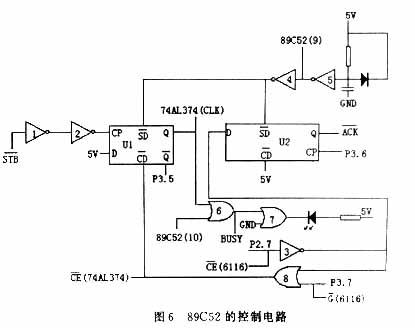 使用单片机控制微型打印机的资料详细概述