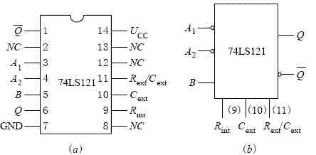 74LS121引脚图管脚功能表