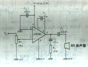 lm386功放电路图引脚图管脚介绍