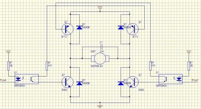 模拟数字电子技术 69 h桥电路