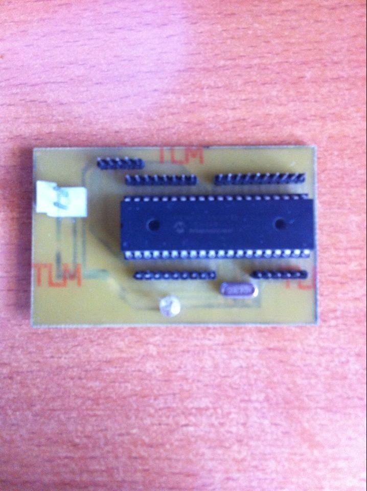 直流电机脉宽调速 - pic单片机