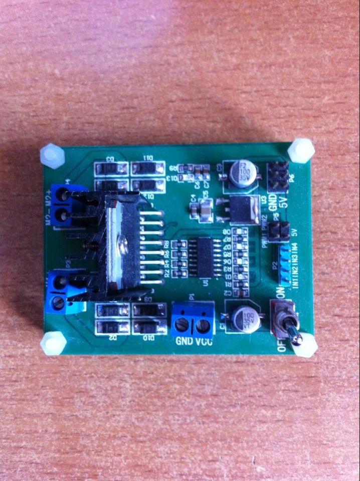 l298n电机驱动模块