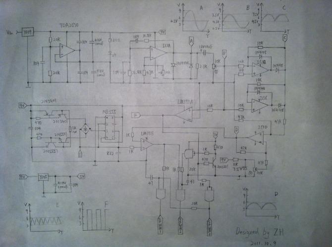 一提正弦波逆变器,大家首先想到SPWM技术.如何实现SPWM呢?肯定很多人的第一想法是使用单片机.的确,使用单片机的好处不少:SPWM波精度高,输出正弦波波形好,稳压精度高,方便加入电压指示功能等,单片机确实非常适合工业量产.但是对于咱们玩家,可不是这样了.单片机不是人人可以掌握的,即便掌握,像我这种只会做电子钟红外遥控之类的初级玩家也很难写出好的SPWM程序.
