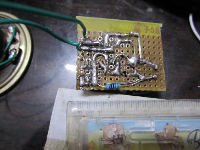 科技创新v语音语音2011年12月2日23时,芯片电路和功放电路作品日记焊字50再次初中生图片