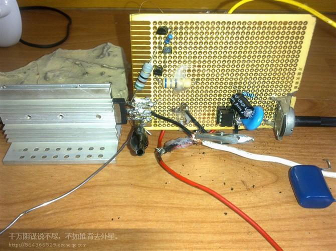 驱动高压包拉弧2cm,可以分叉成多股电弧