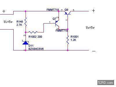 一个简单过压电路的原理