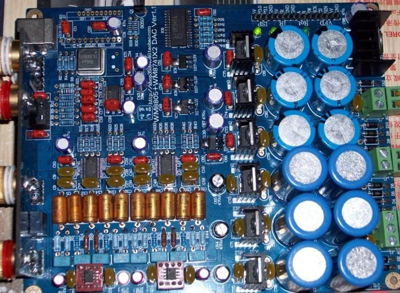 wm8805 wm8741x2 dac设计以及制作