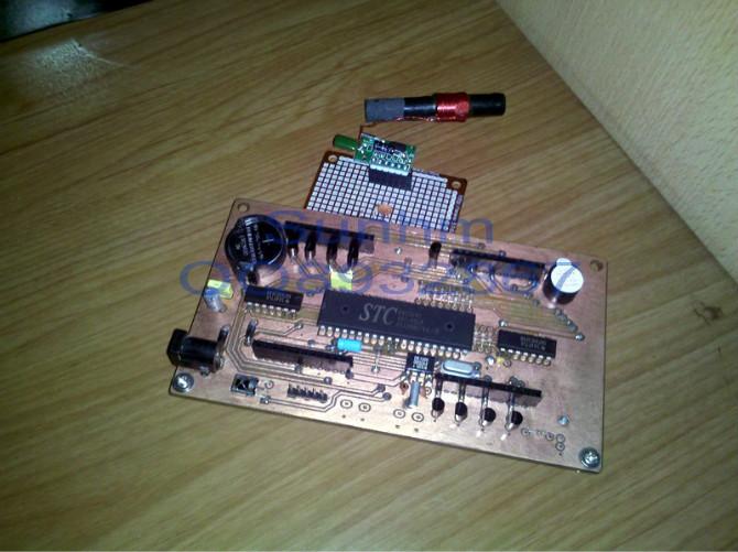 [diy]最近研究的电波钟接收模块
