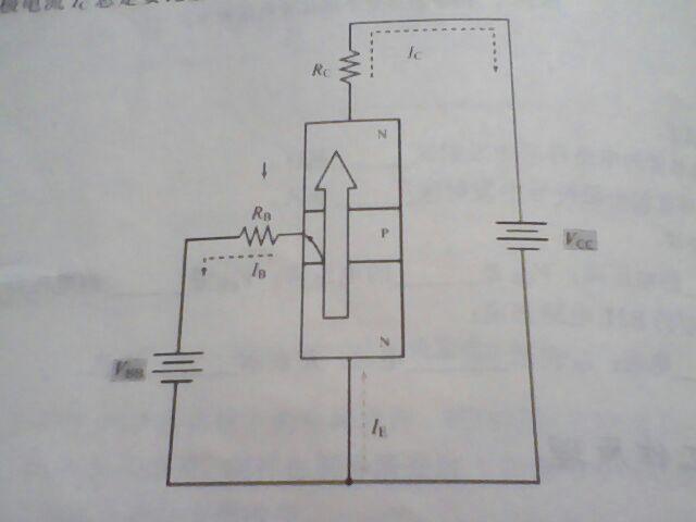三极管(npn型)工作原理推想与猜测