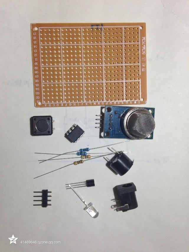 diy燃气报警器(电路+视频+程序)
