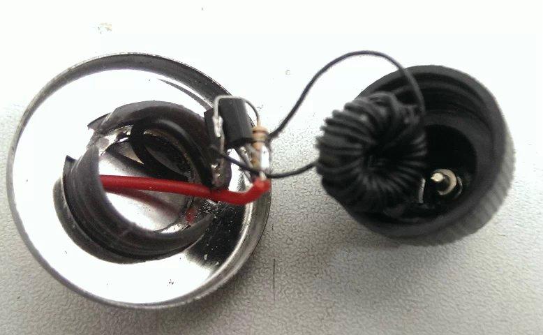 老电筒改led—焦耳小偷电路