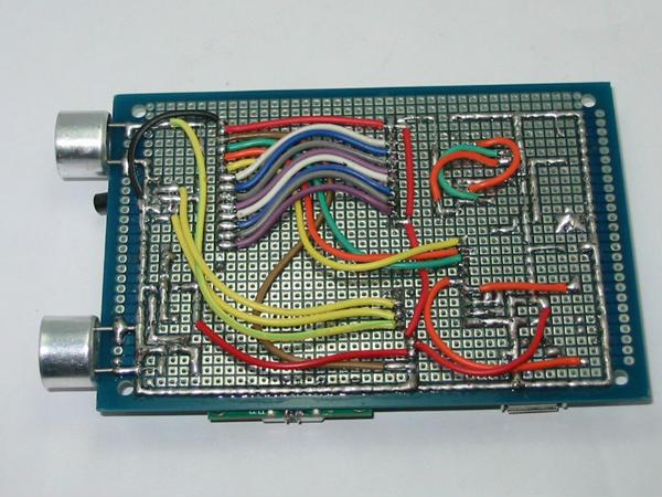 at89s52单片机+ds18b20+1602组成的带温度补偿超声波