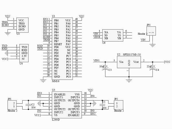 动手制作超声波测距避障小车