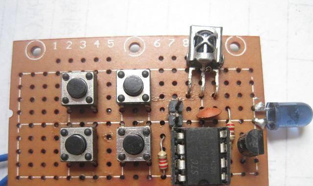 单片机红外线万能学习遥控器