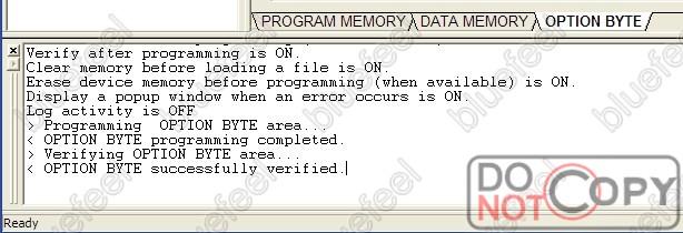 一个stm8串口下载程序教程