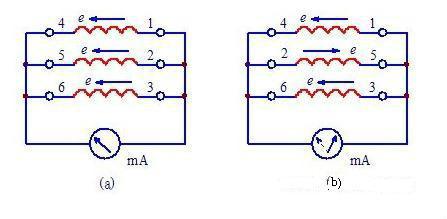 三相异步电动机绕组头
