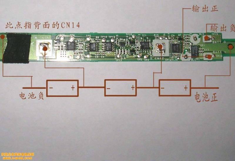 锂电池保护板的几种接法图片