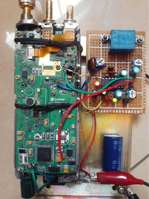 台扇线路板接线图