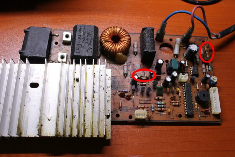 电脑板风扇接线图