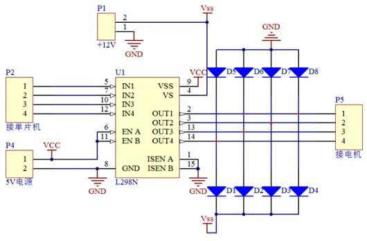 机器人教程3:直流电机驱动及l298n模块