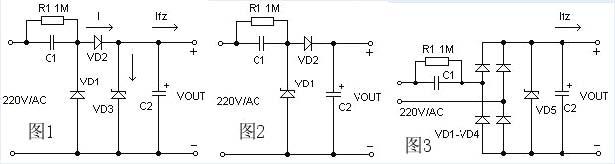 电容降压的工作原理与计算_数码电脑_中国百科网