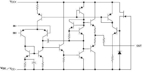 jrc4558引脚图与应用电路及代换型号