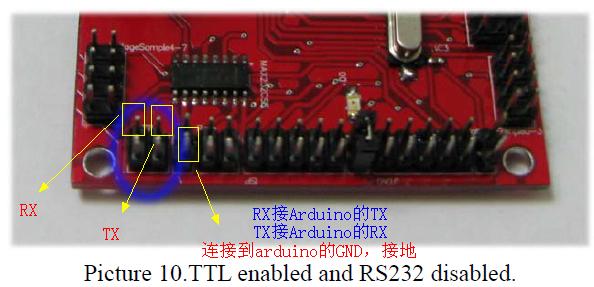fishdev舵机控制板与arduino的串口通信